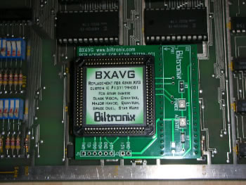 BXAVG installed Quantum
