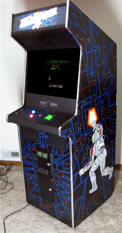 Bill S Classic Arcade Space Duel To Major Havoc Conversion