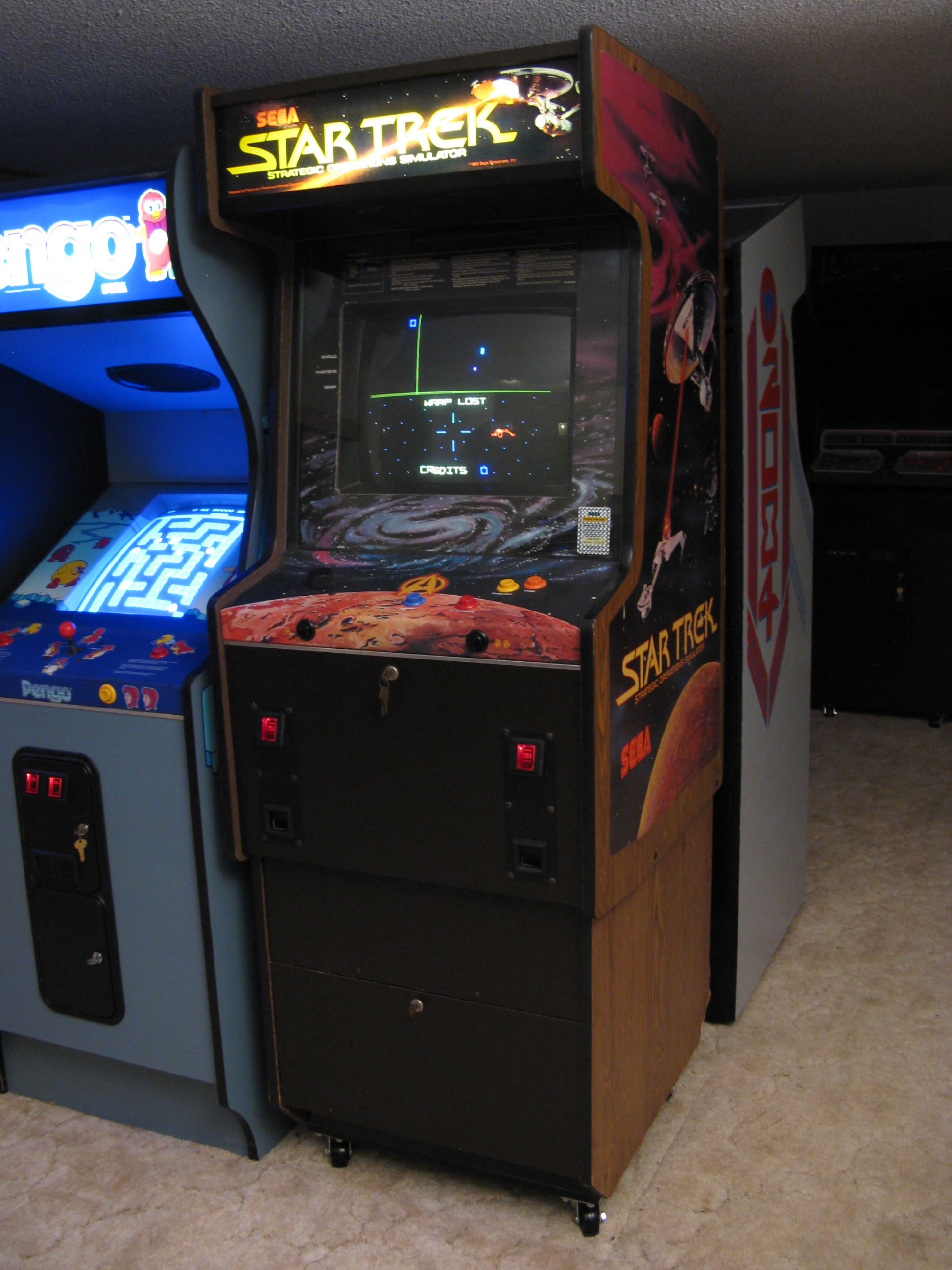 Star Trek at Bill's Classic Arcade