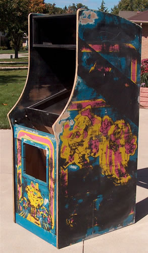 Galaga Arcade Machine Restoration