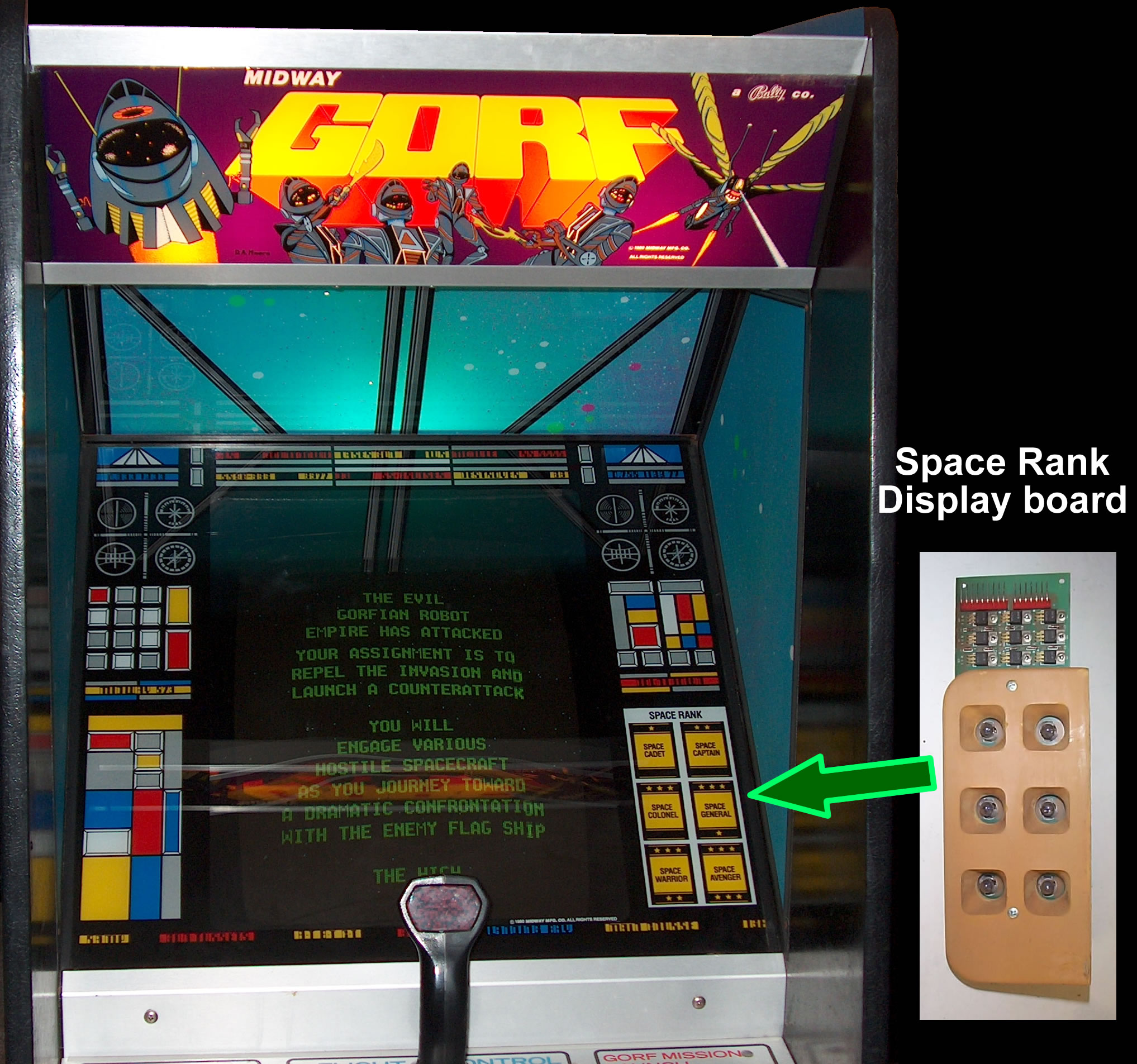 Gorf Arcade Machine