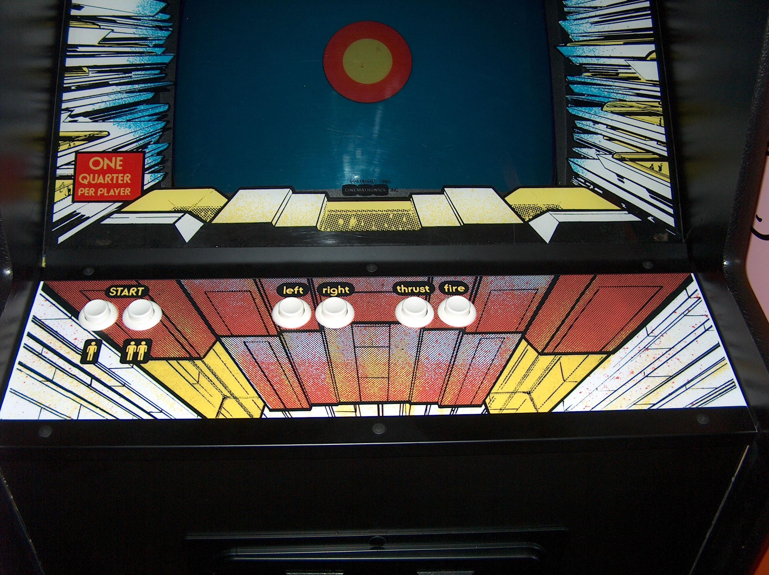 Star Castle Arcade Machine Restoration